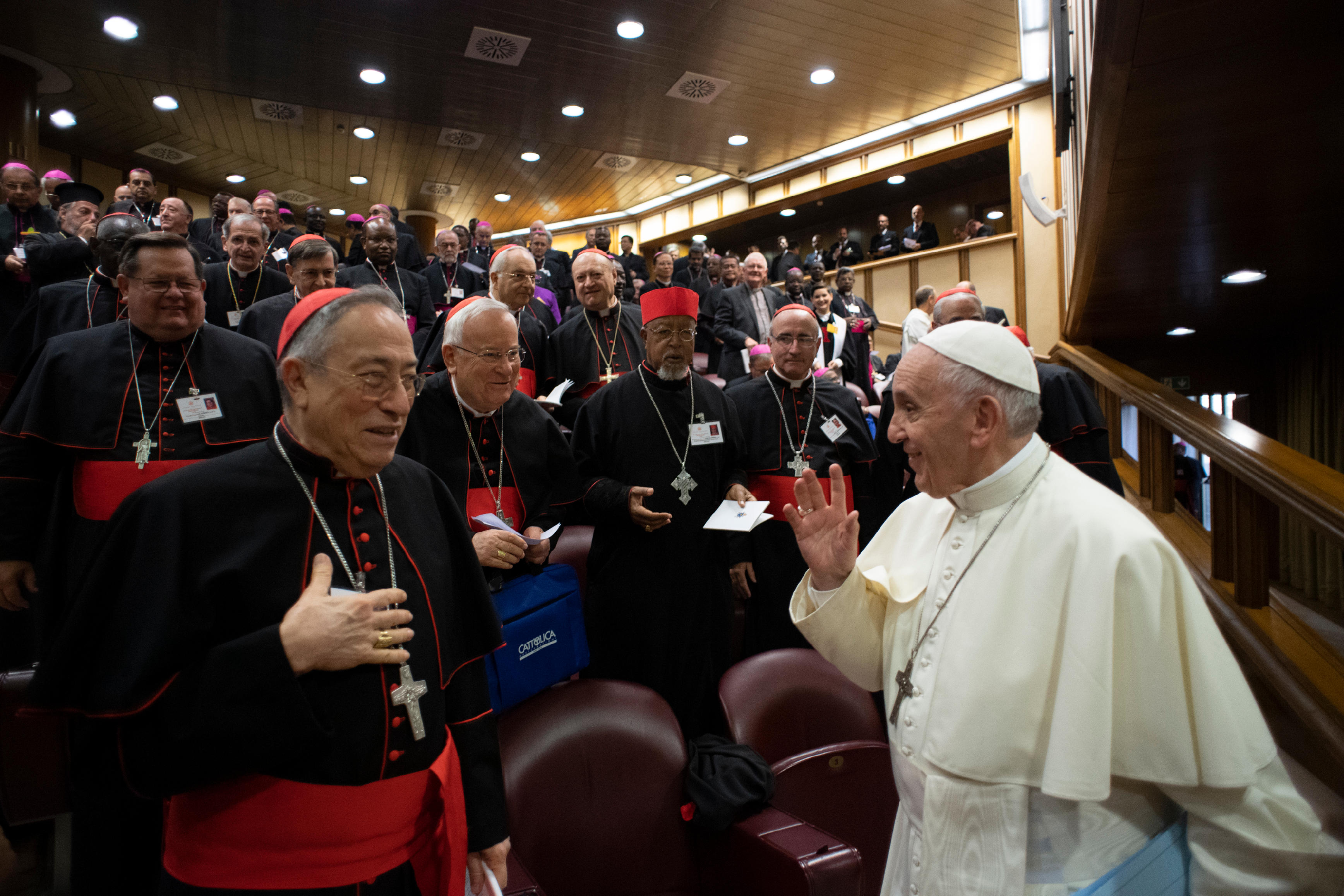 Sínodo de los Obispos, 9 octubre 2018 © Vatican Media