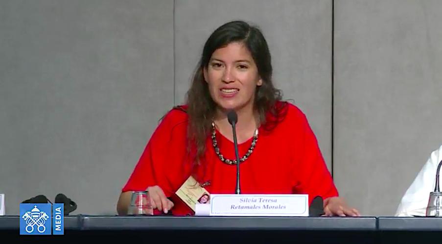 Silvia Teresa Retamales, auditora chilena en el Sínodo de los Obispos