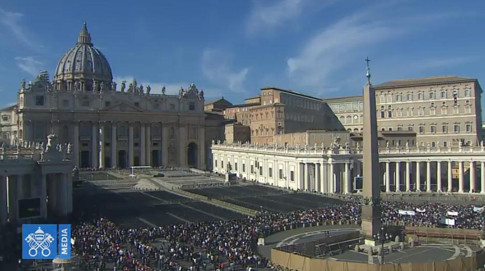 Ángelus 11 nov. 2018 captura Vatican Media