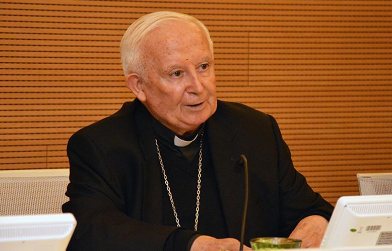 Cardenal Antonio Cañizares © Universidad Católica de Valencia