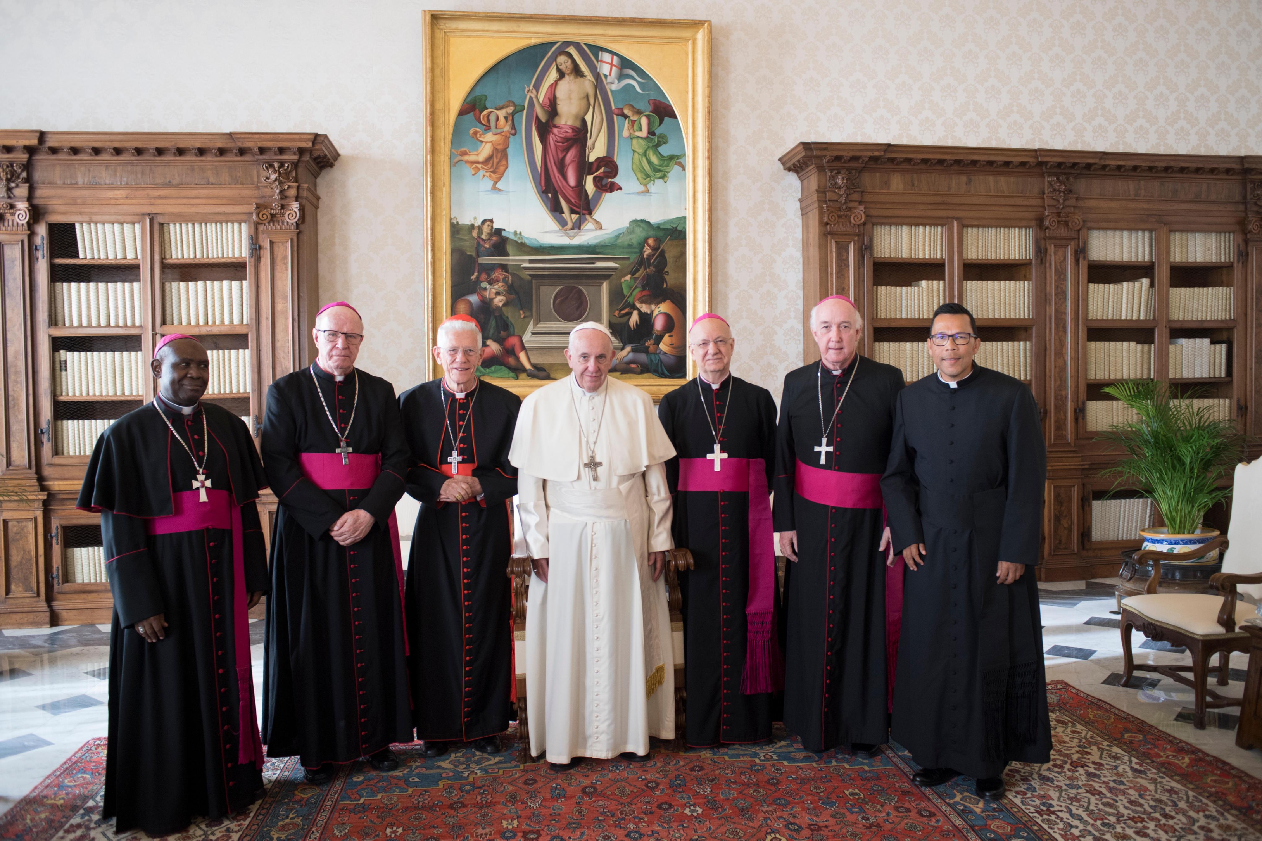 Visita ad limina de los obispos del Océano Índico © Vatican Media