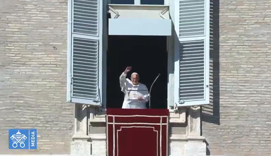 Ángelus Del 11 De Noviembre De 2018, Captura Vatican Media