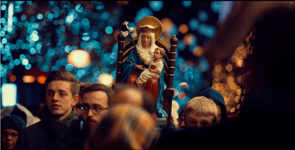 «He aquí la sierva del Señor; hágase en mí según tu palabra». Captura de pantalla