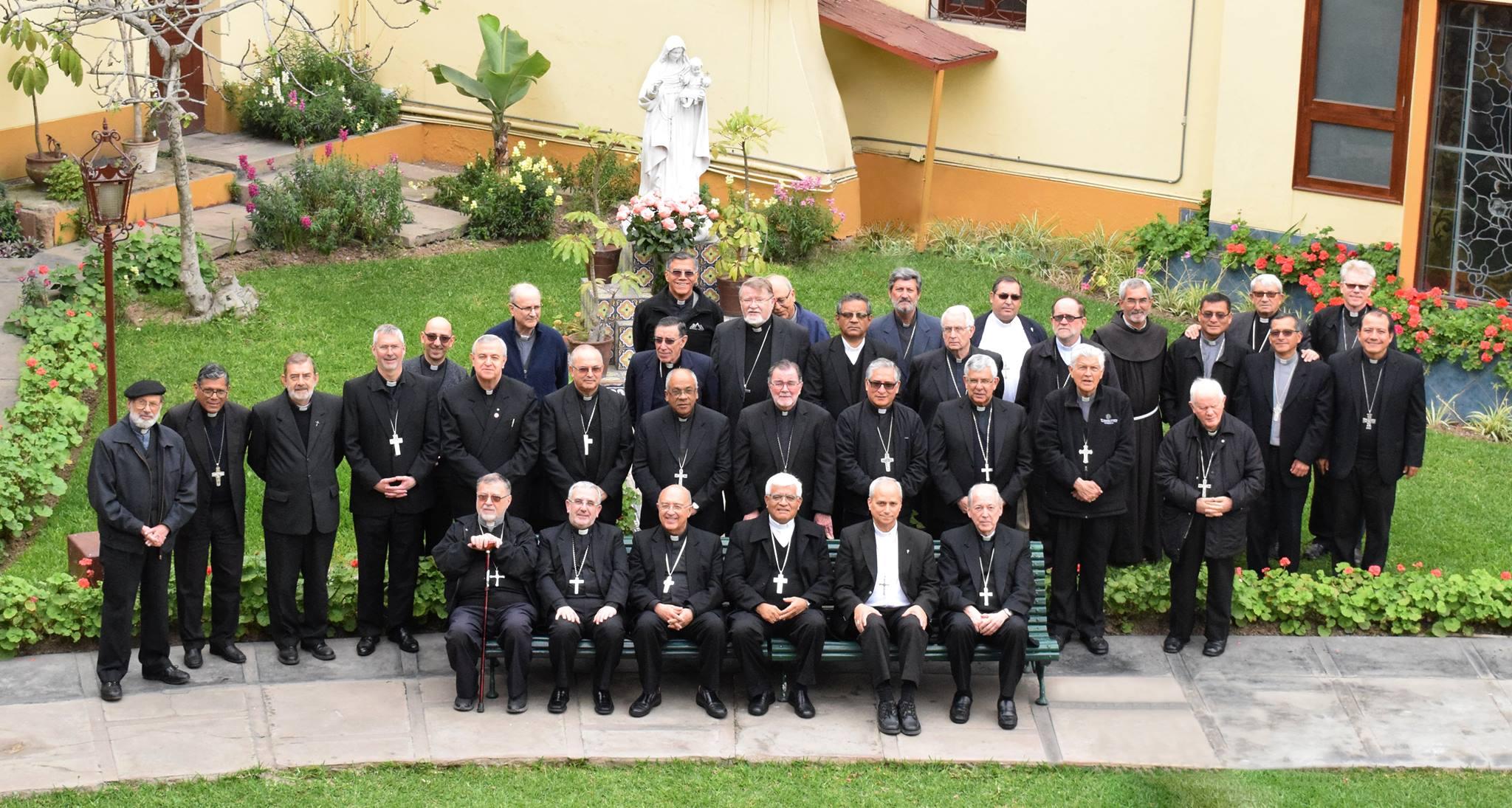 Obispos del Perú © Conferencia Episcopal Peruana