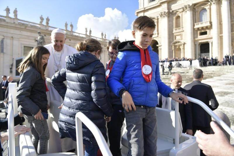 Audiencia general, 7 nov. 2018 © Vatican Media