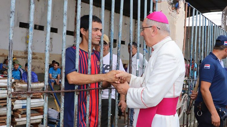 Mons. Martínez Flores, nuevo Presidente de la CEP © Vatican Media