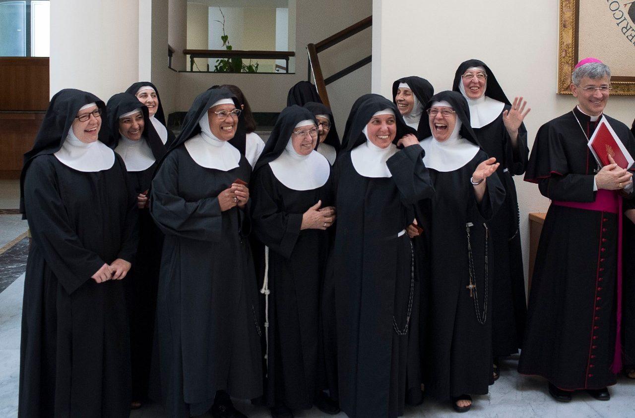 Monjas Clarisas de clausura en la Residencia de Santa Marta © Vatican Media