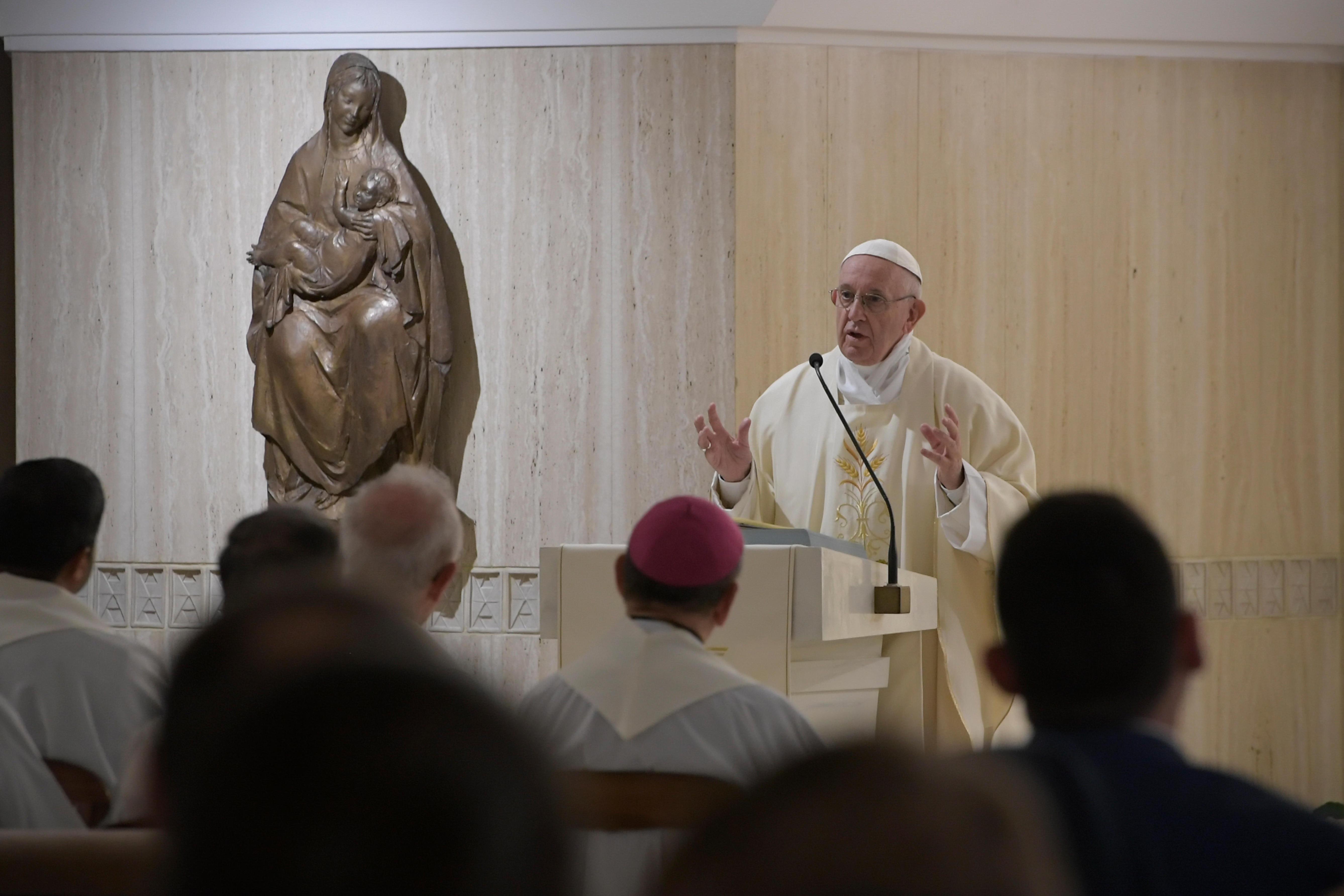 El Papa Francisco advierte del consumismo © Vatican Media