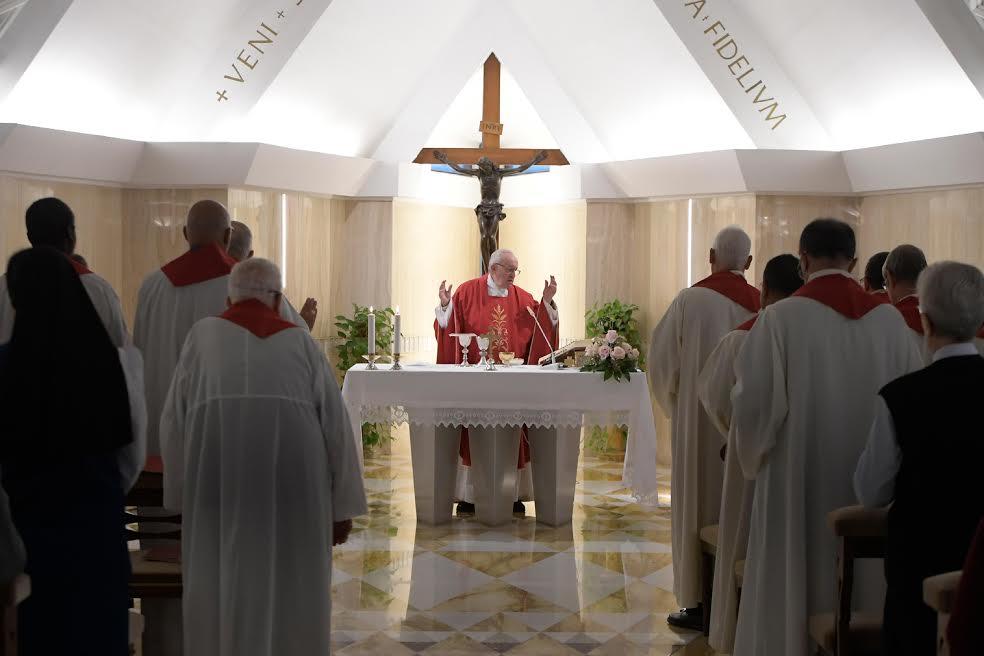 Santa Marta © Vatican Media