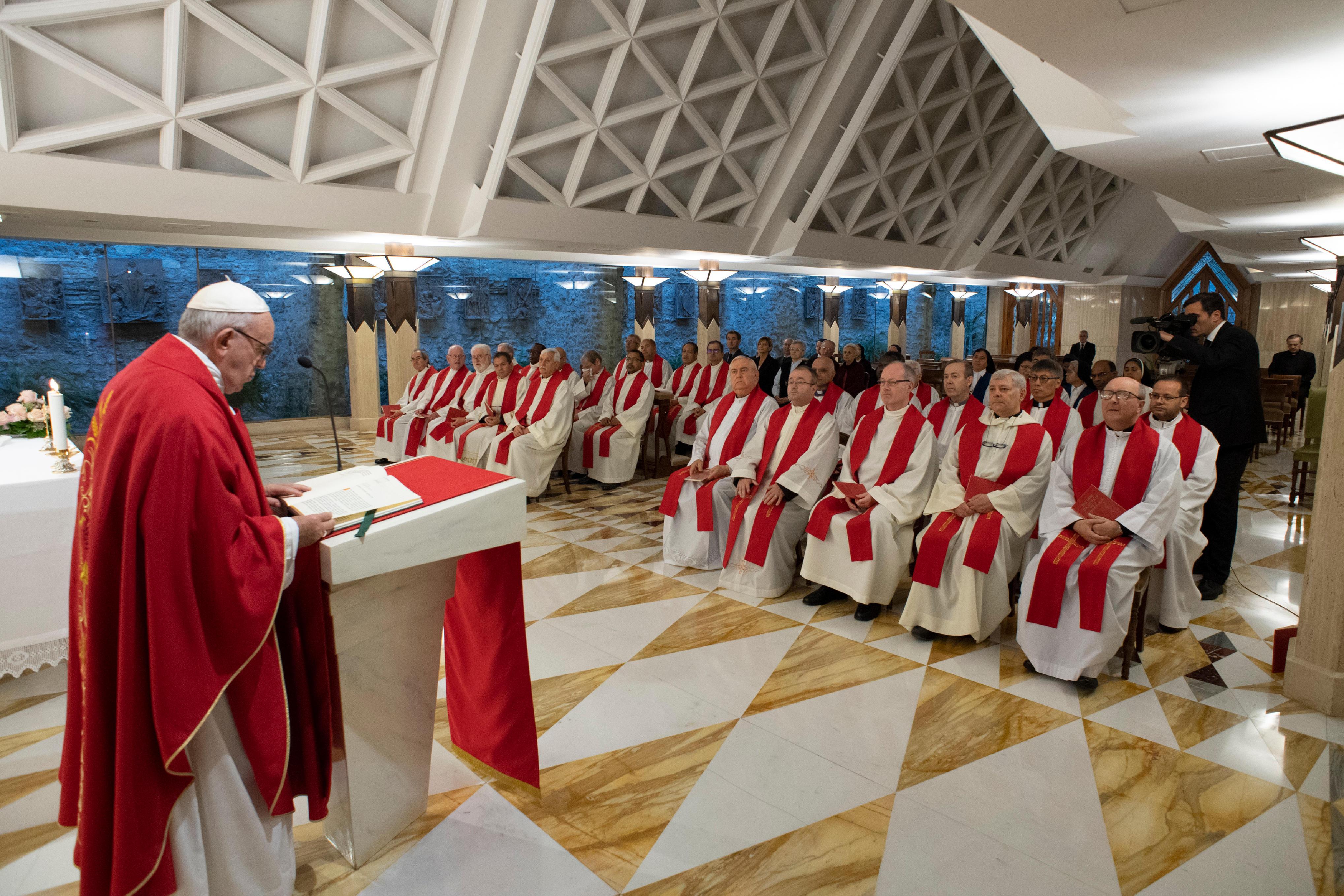 Santa Marta © Vatican Media.