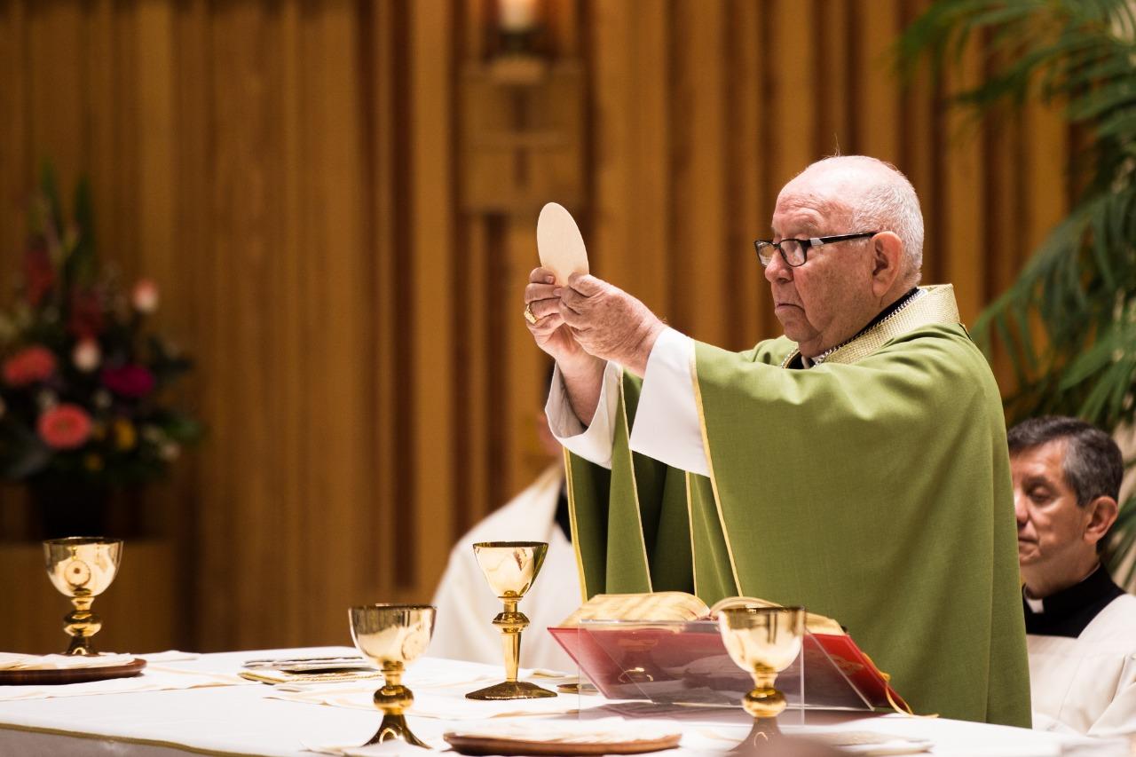 Cardenal Sergio Obeso celebra la Eucaristía © CEM