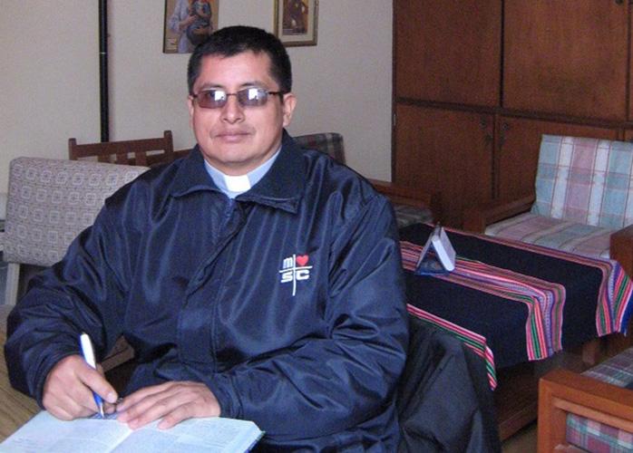 P. Timoteo Solórzano Rojas © Misioneros del Sagrado Corazón en el Perú