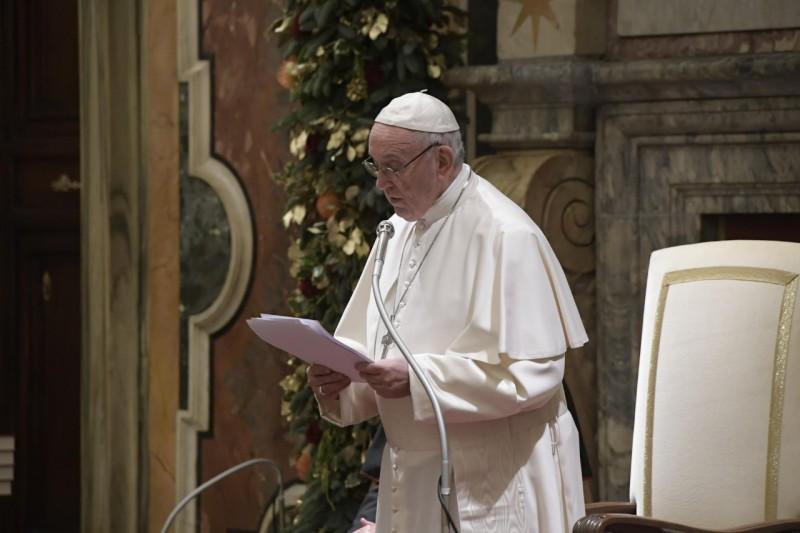 Discurso del Papa a la Curia Romana © Vatican Media