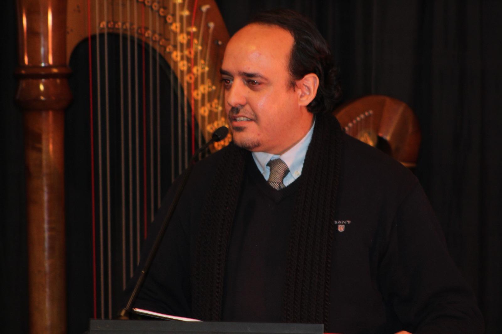 Antonio Martín, ganador del 38 Premio de poesía mística © Fundación Fernando Rielo