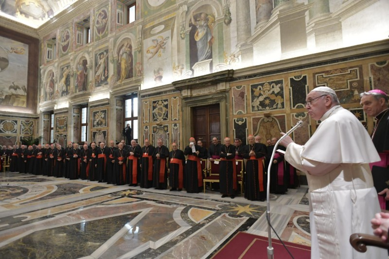 El Papa insiste en no encubrir los abusos en la Iglesia © Vatican Media