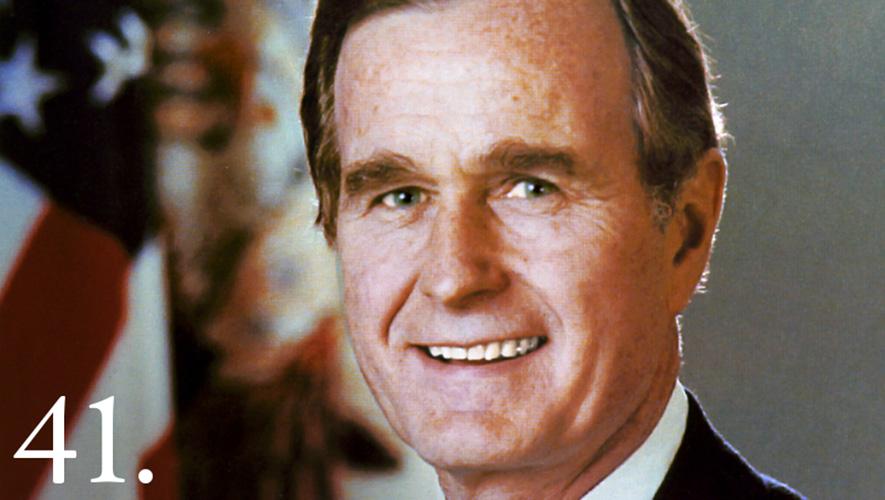 George H. W. Bush © The White House