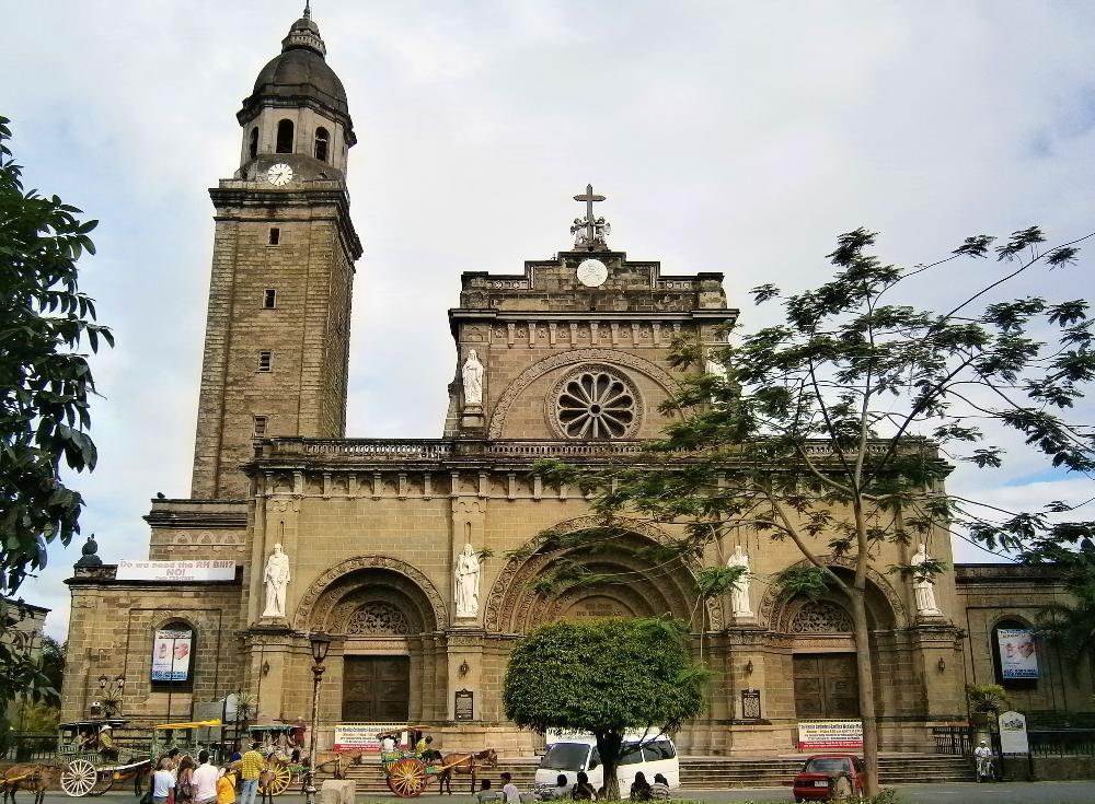 Catedral de Manila, Filipinas © www.zumarragarraenfilipinas.comCatedral de Manila, Filipinas © www.zumarragarraenfilipinas.com