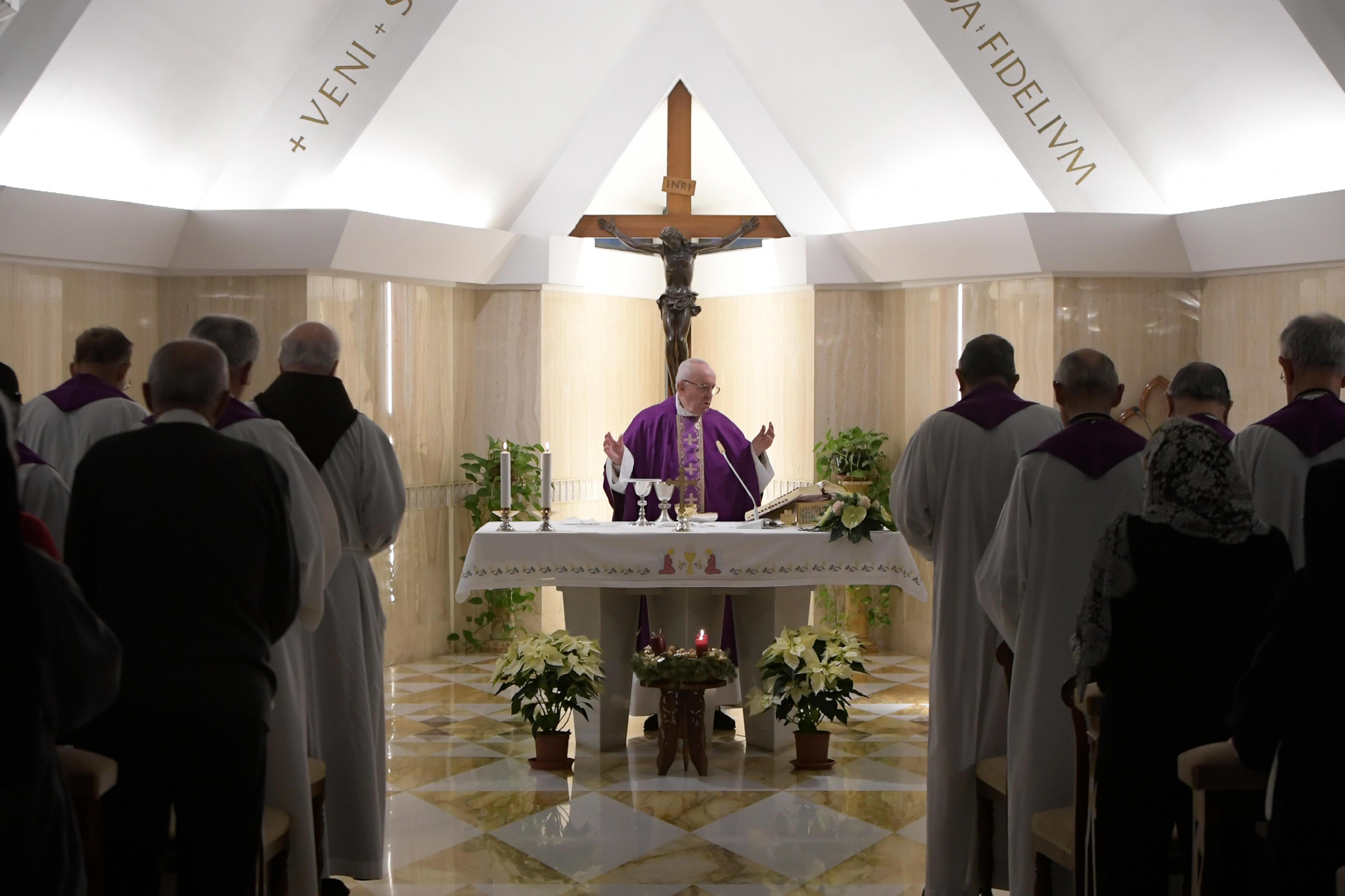 Misa en Santa Marta, 11 dic. 2018 © Vatican Media