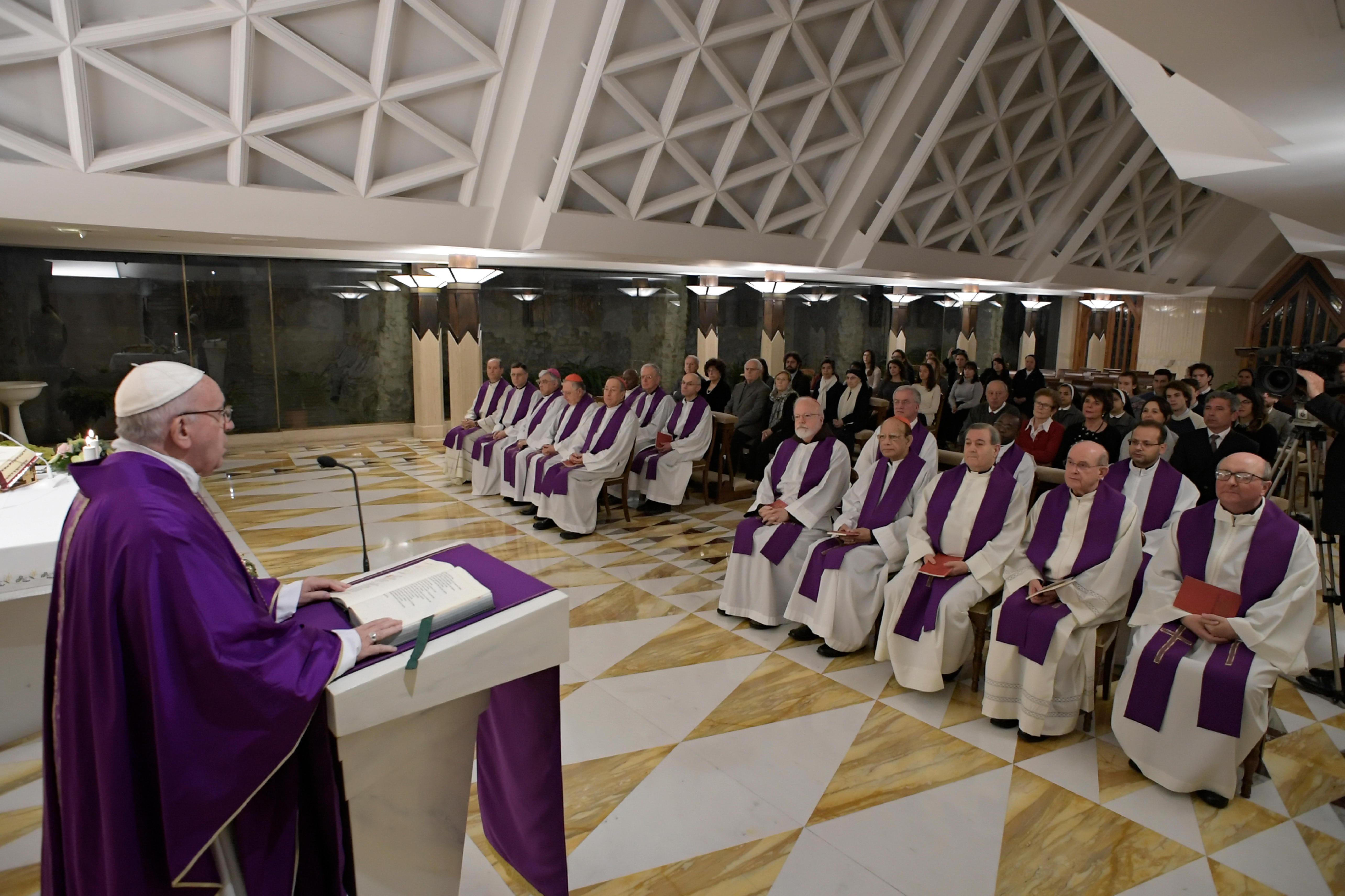 Homilía del Papa Francisco © Vatican Media
