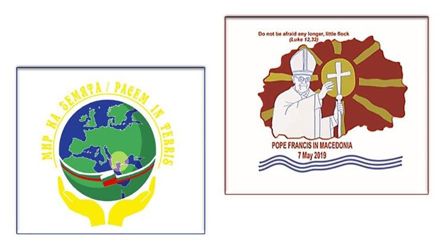 Logos de ambos viajes © Vatican News