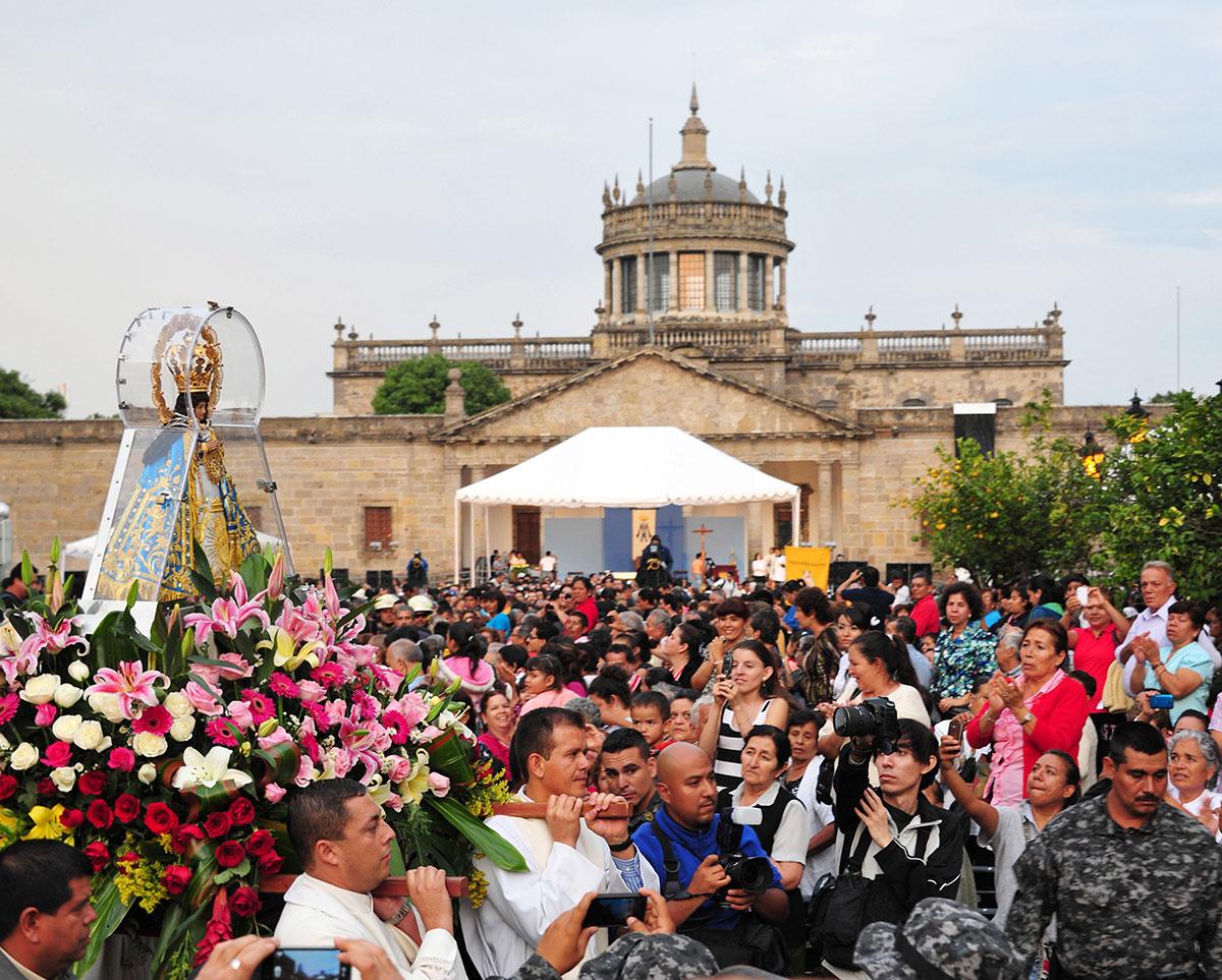 Romería de la Virgen de Zapopan, México © inah.gob.mx