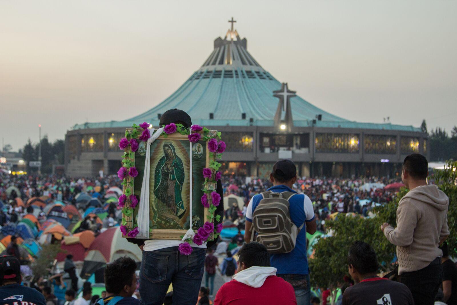 Peregrinación al Santuario de la Virgen de Guadalupe © María Langarica