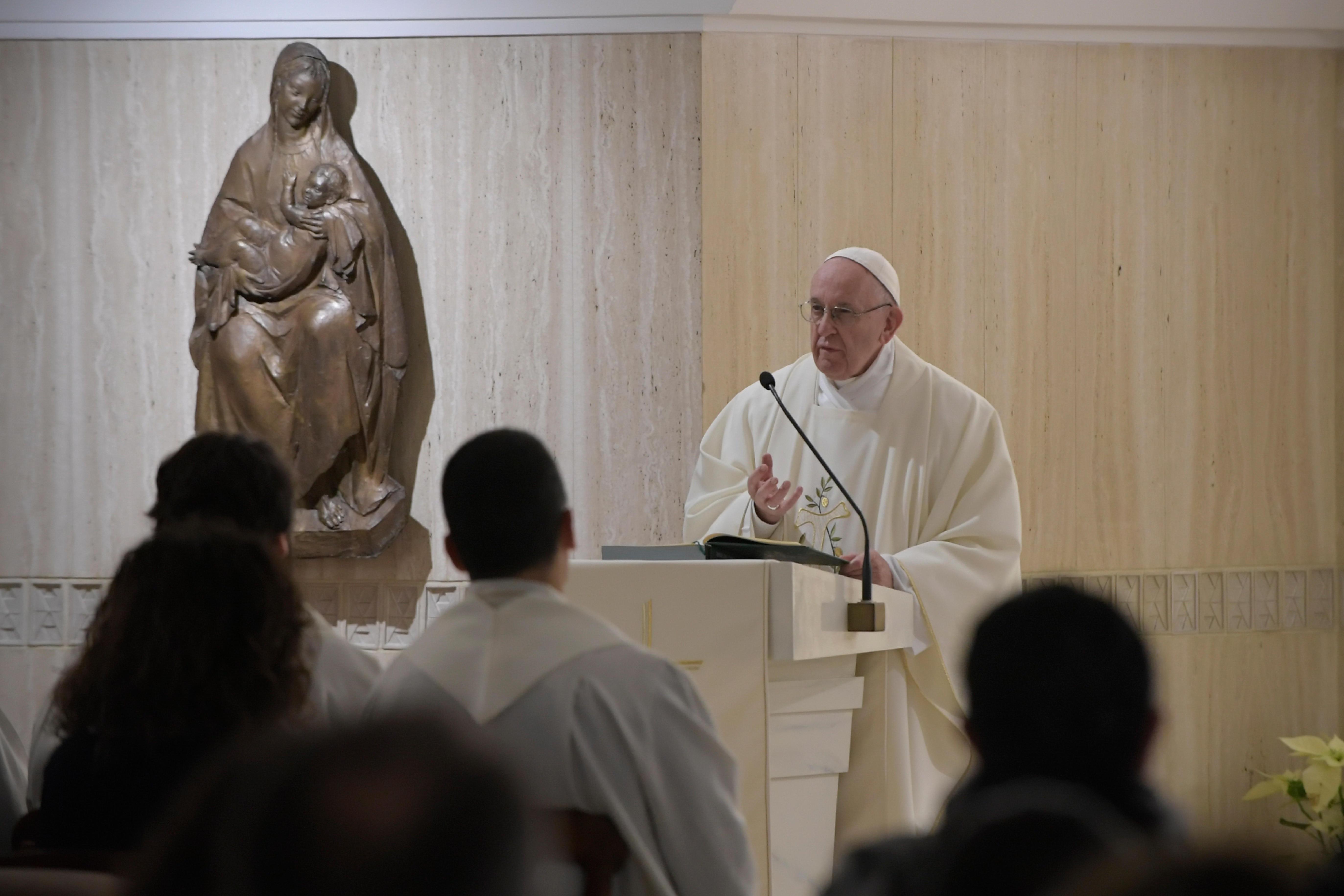Misa en Santa Marta, 17 enero 2019 © Vatican Media