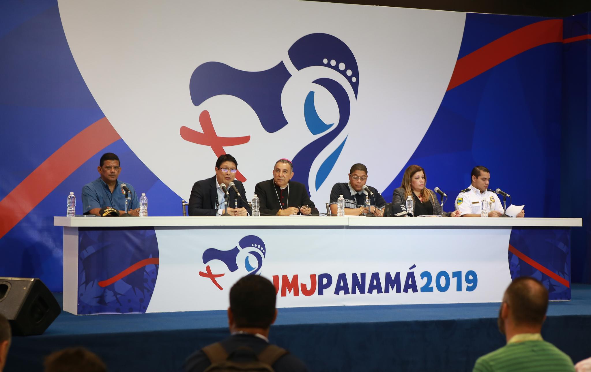 Rueda de prensa en Ciudad de Panamá © JMJ Panamá 2019