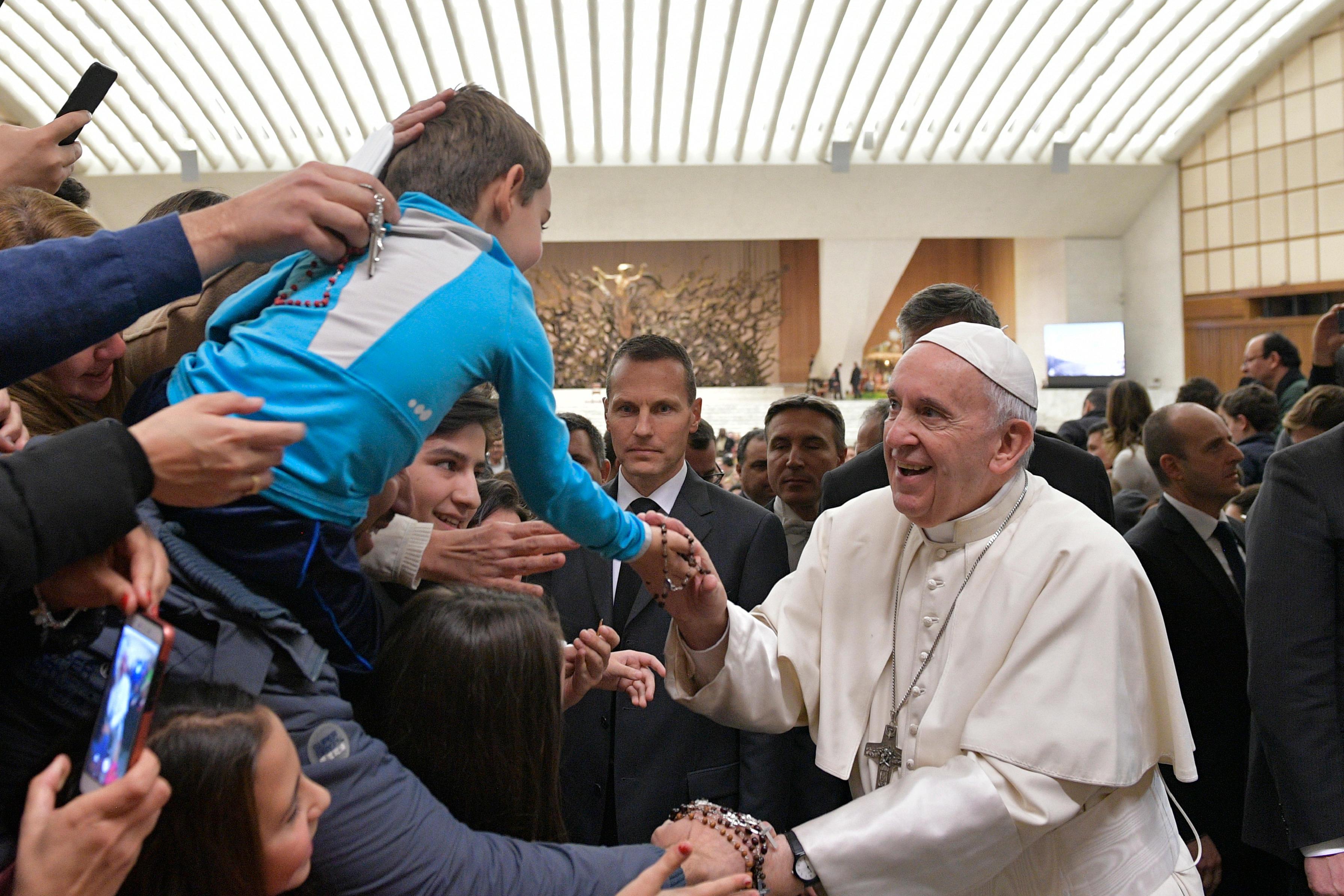 Audiencia general, 2 enero 2019 © Vatican Media