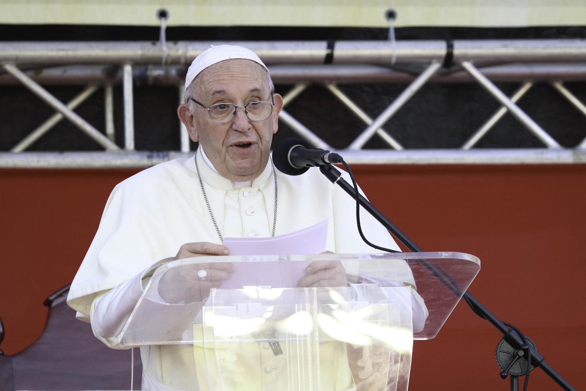 El Papa se encontró con los voluntarios de la JMJ el domingo, 27 de enero de 2019 © JMJ Panamá 2019