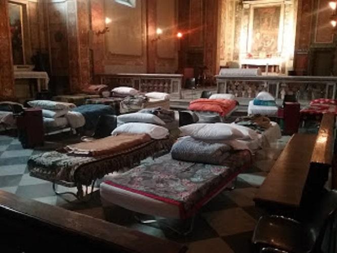 Dormitorio Para Personas Sin Hogar En Saint-Calixte © Oficina De Prensa De La Santa Sede
