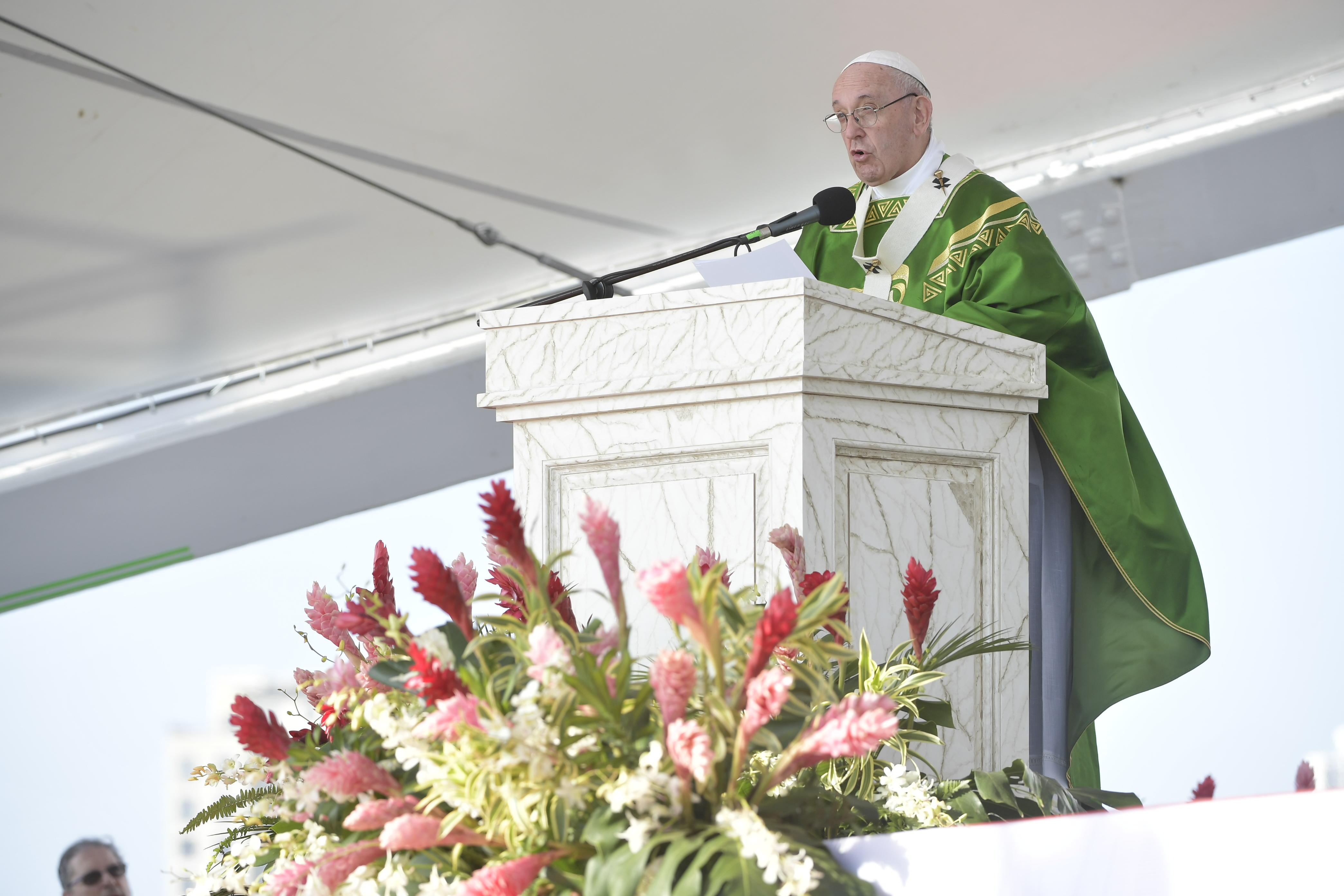 Homilía del Papa en la Misa de Envío JMJ 2019 © Vatican Media