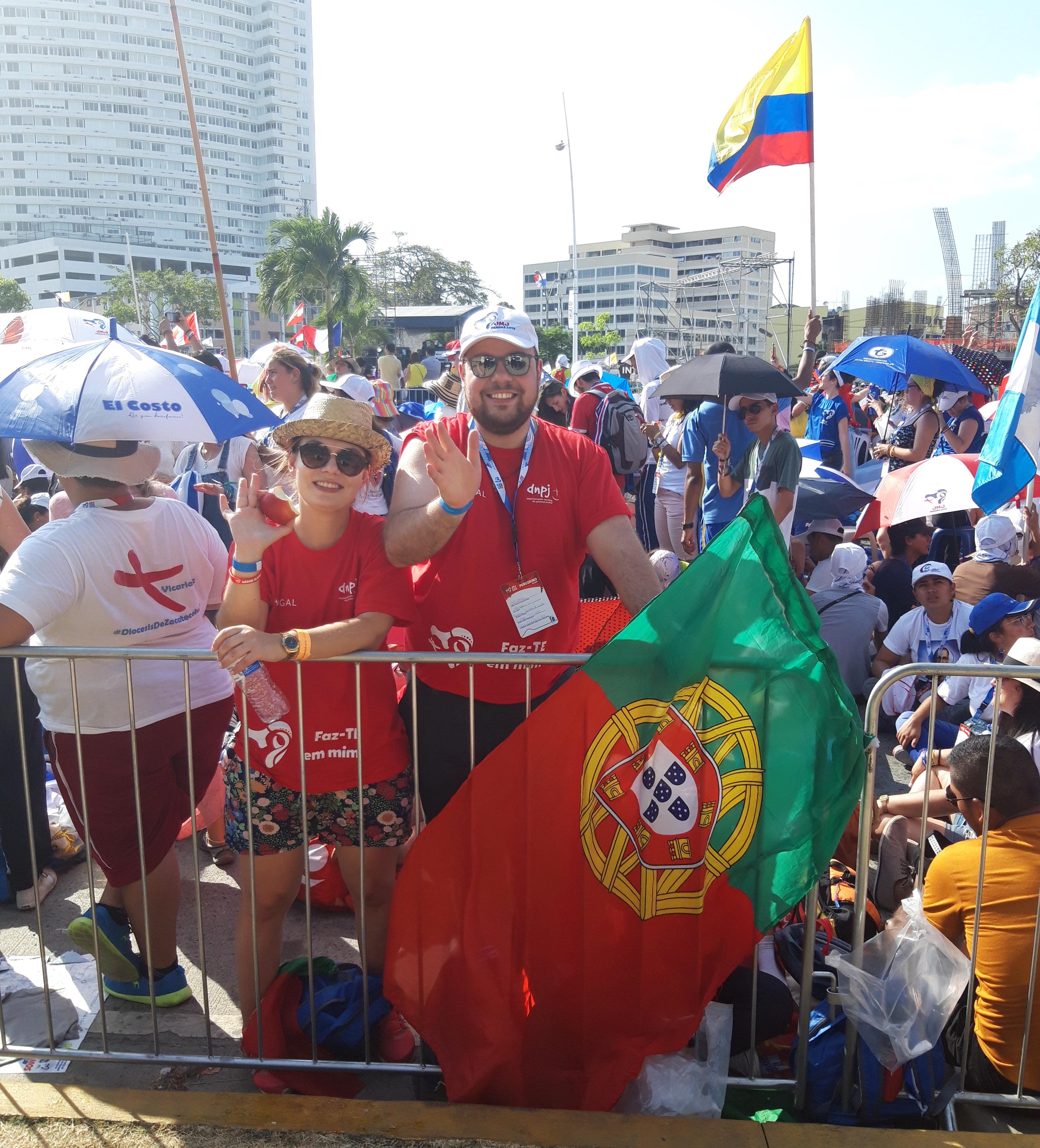 Peregrinos de Portugal en la JMJ de Panamá 2019 © Zenit