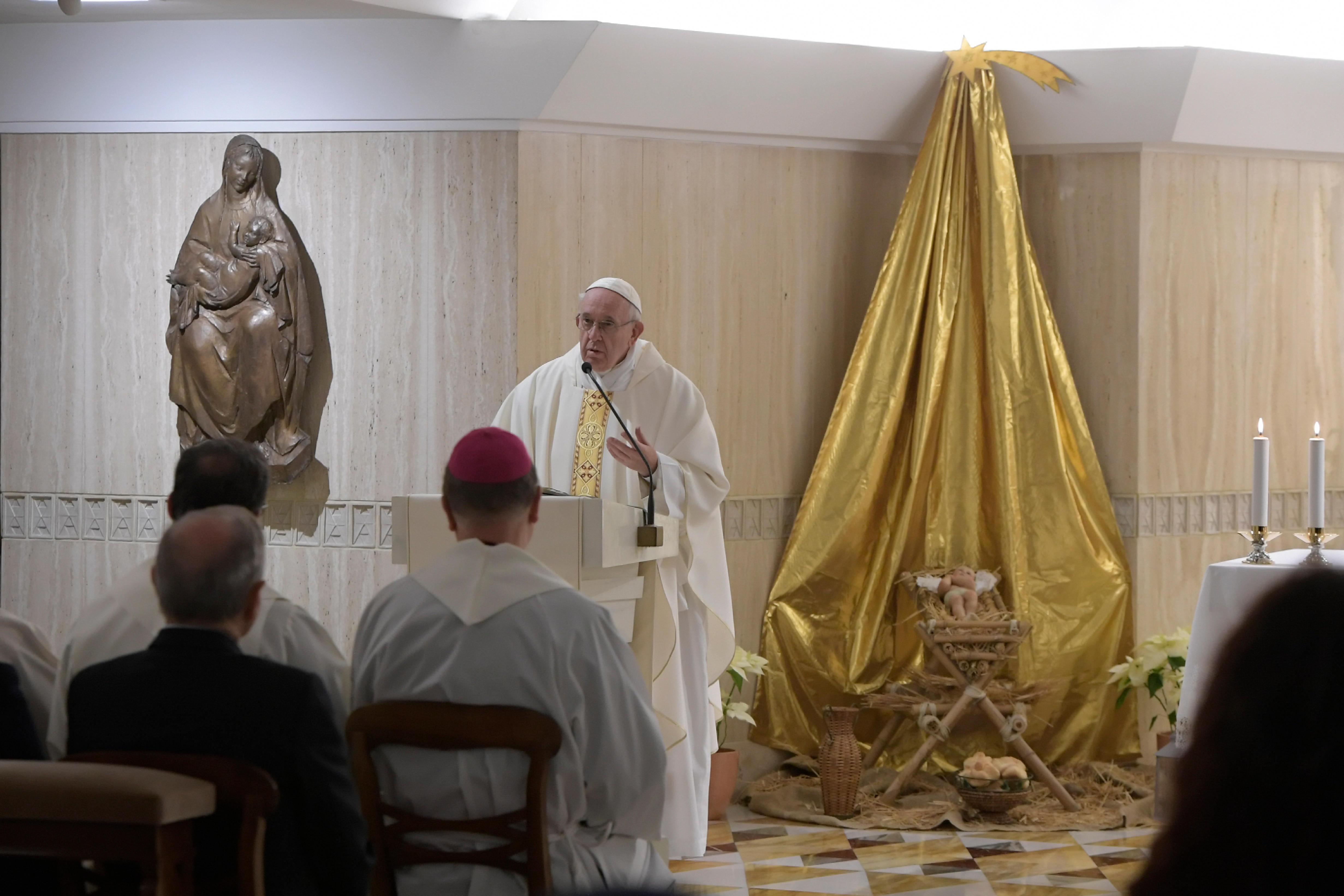 Misa en Santa Marta, 8 enero 2019 © Vatican Media