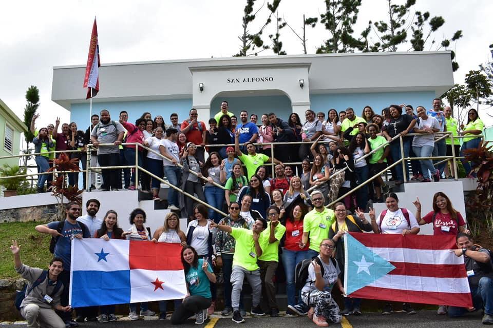 Delegación de la Arquidiócesis de San Juan, Puerto Rico © Enid M. Rodiguez