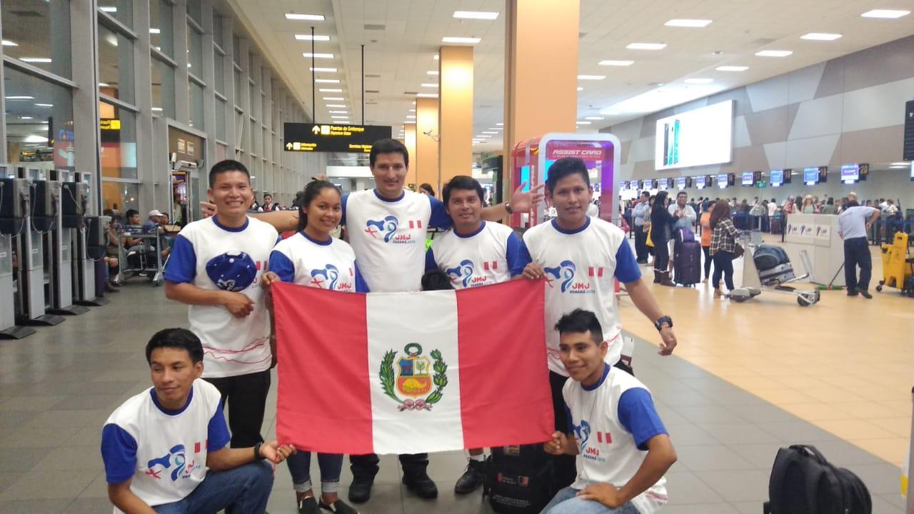 6 peruanos participan en el Encuentro Mundial de Jóvenes Indígenas © Israel Manuin