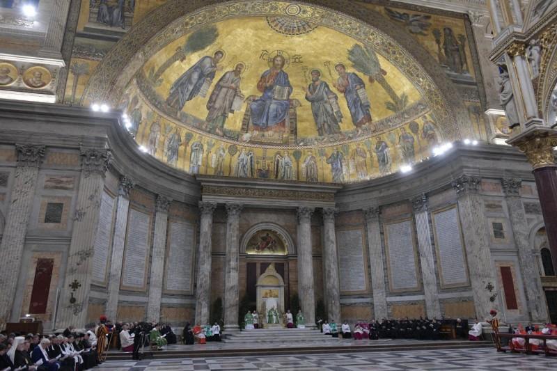 El Papa y los representantes cristianos © Vatican Media