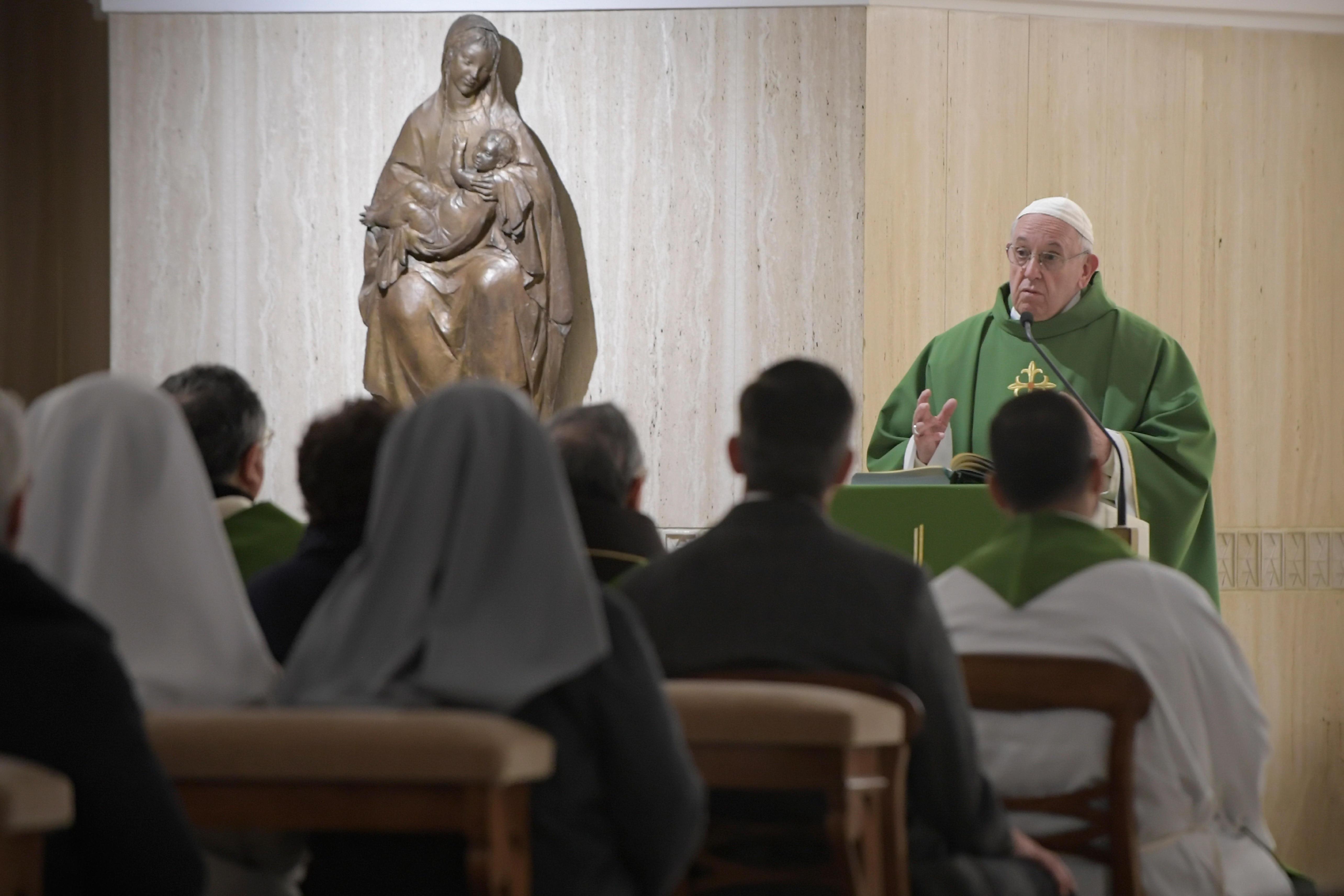 Francisco alienta a perservar en la fe © Vatican Media
