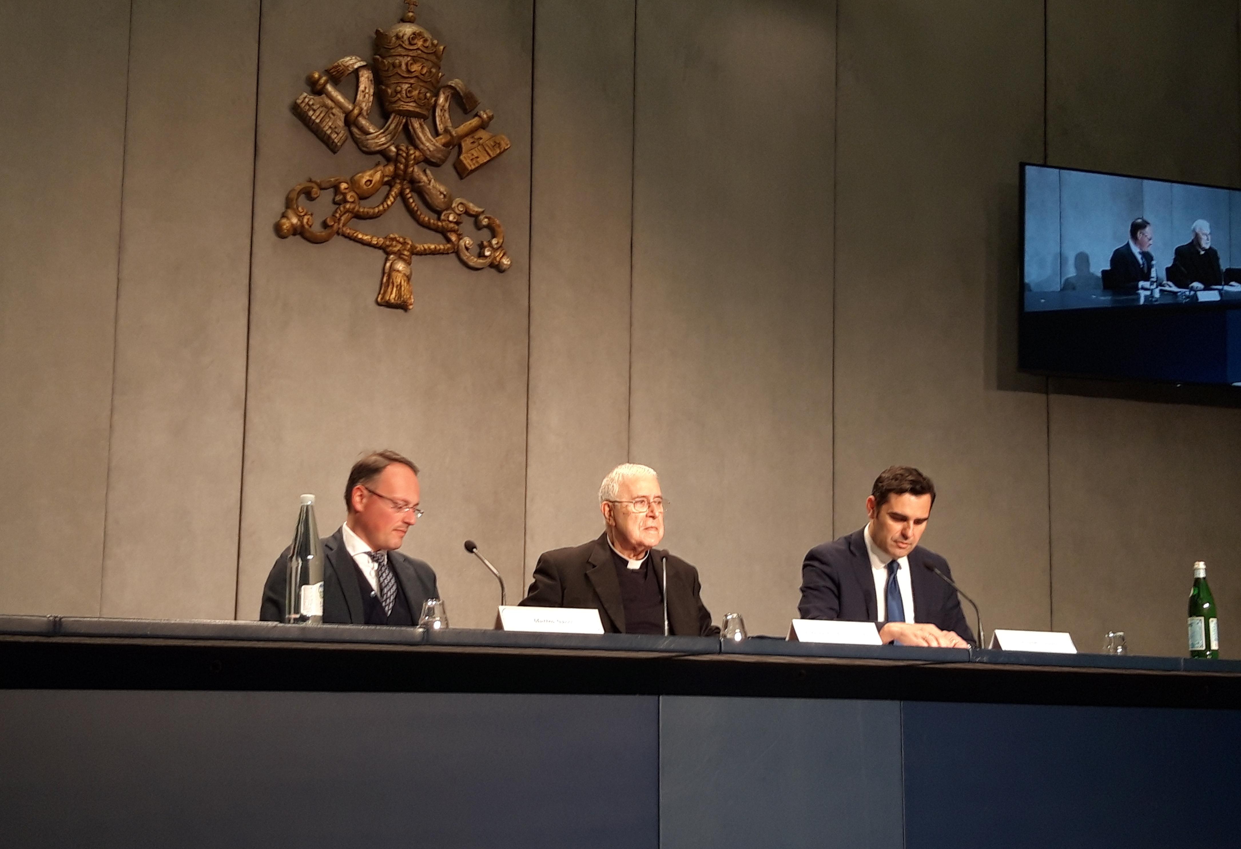Presentación del Coloquio de los Pactos Lateranenses © ZENIT (Rosa Die)