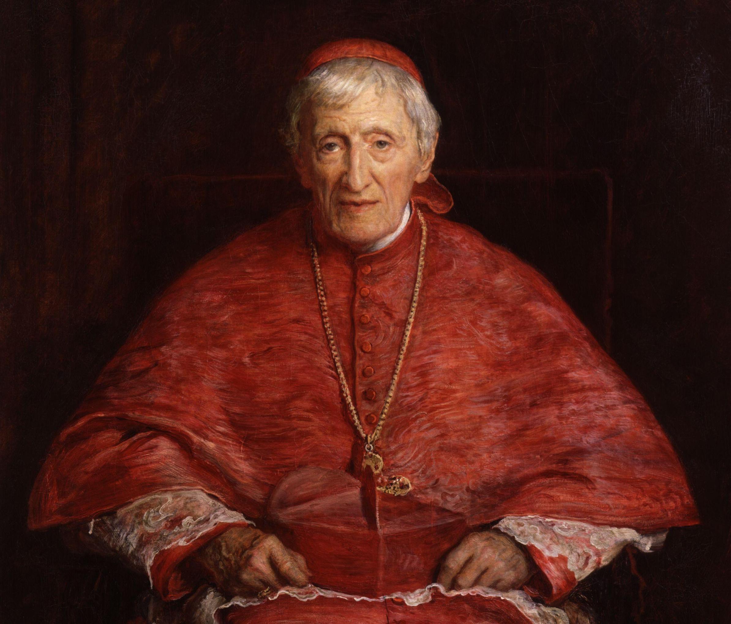 Retrato de John Henry Newman, de John Everett Millais