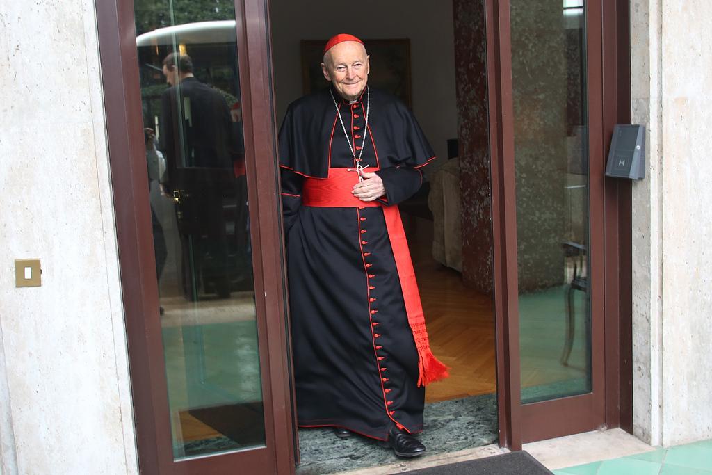 Cardenal McCarrick en Roma, 2013. Boston Catholic