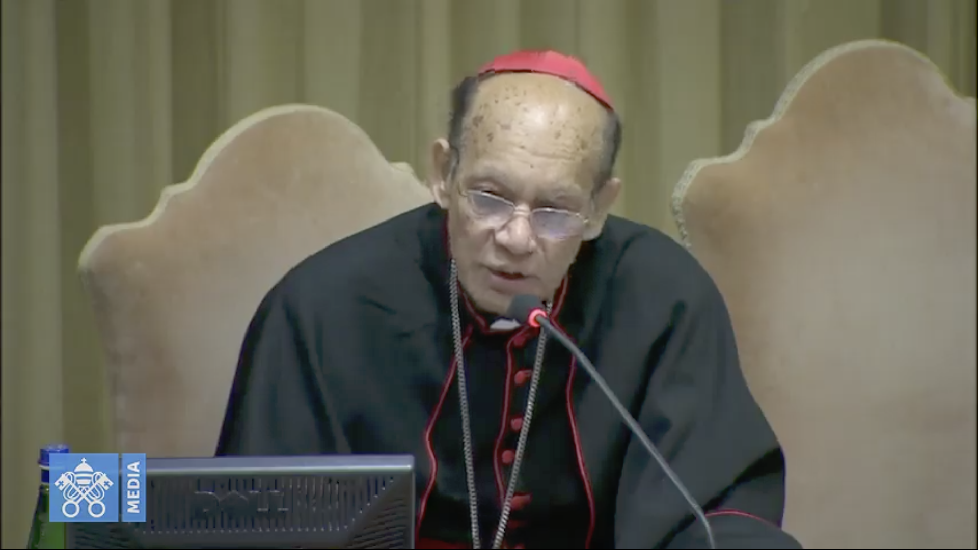 Cardenal Oswald Gracias © Vatican Media