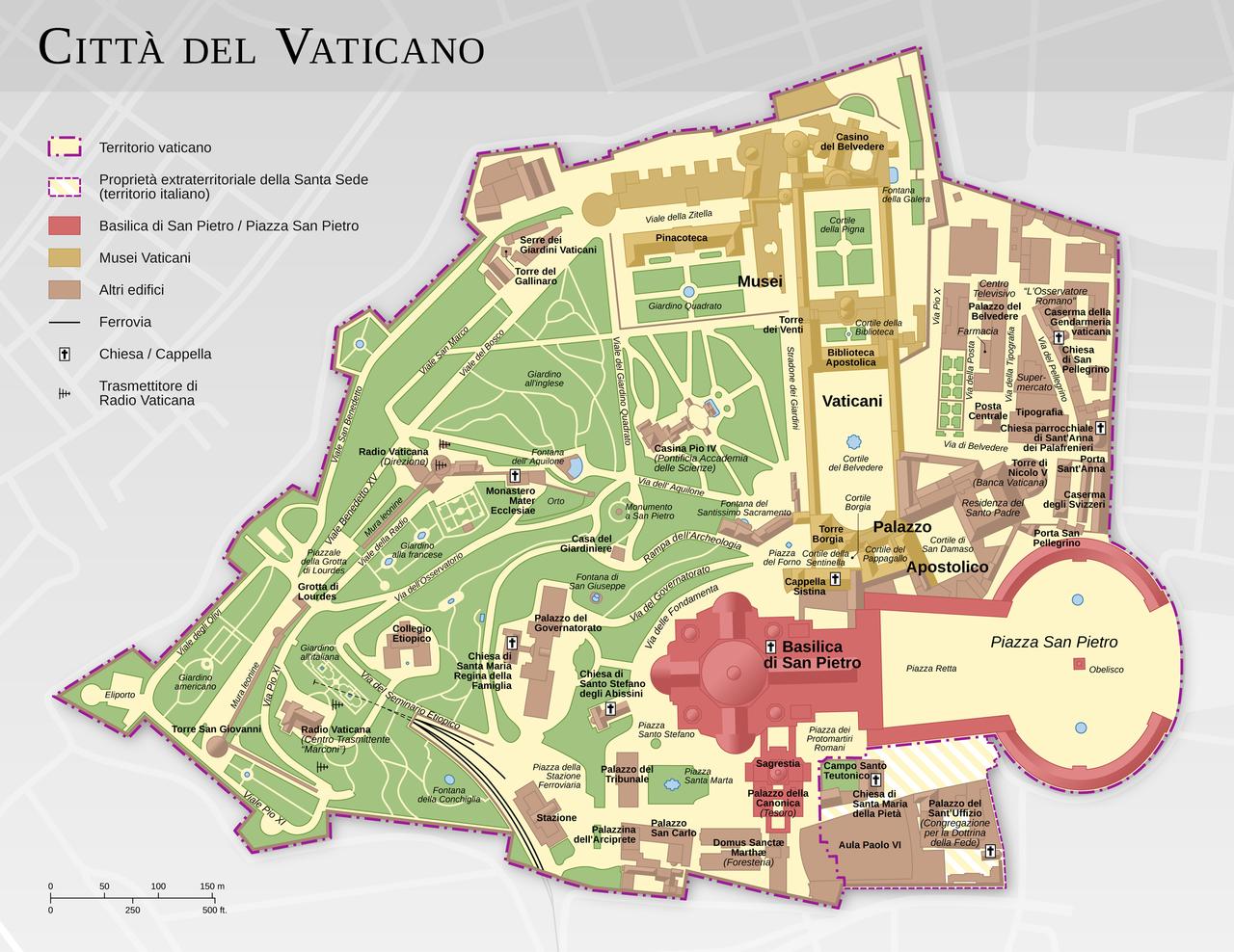 Ciudad del Vaticano. WIKIMEDIA COMMONS - Thomas Röme