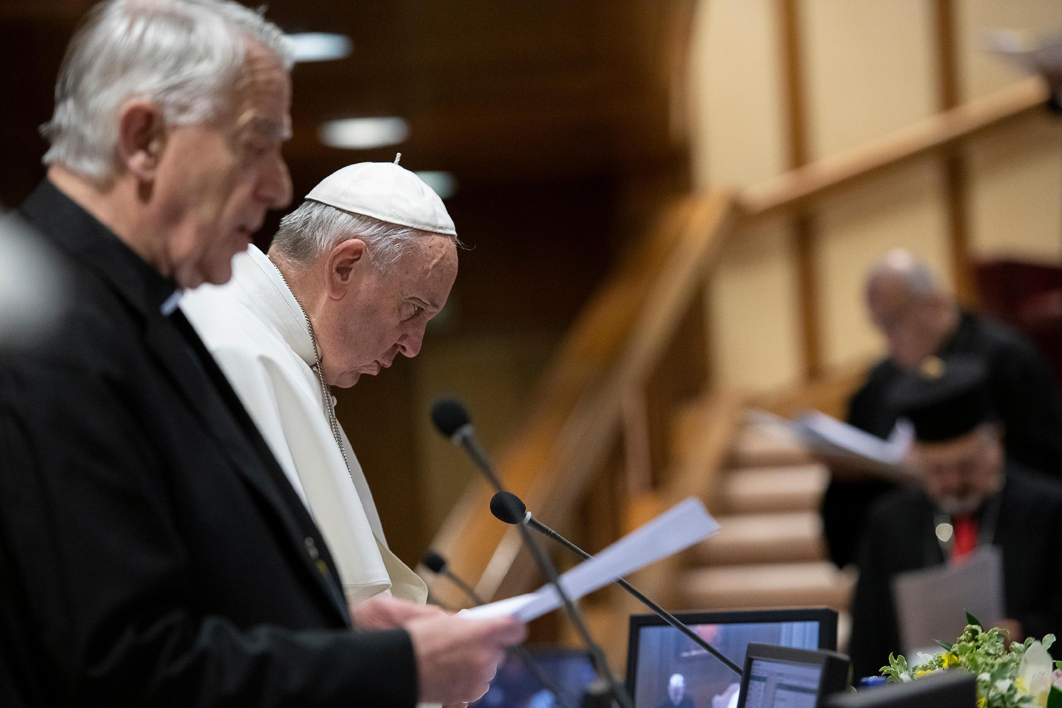 Intervención del padre Lombardi © Vatican Media