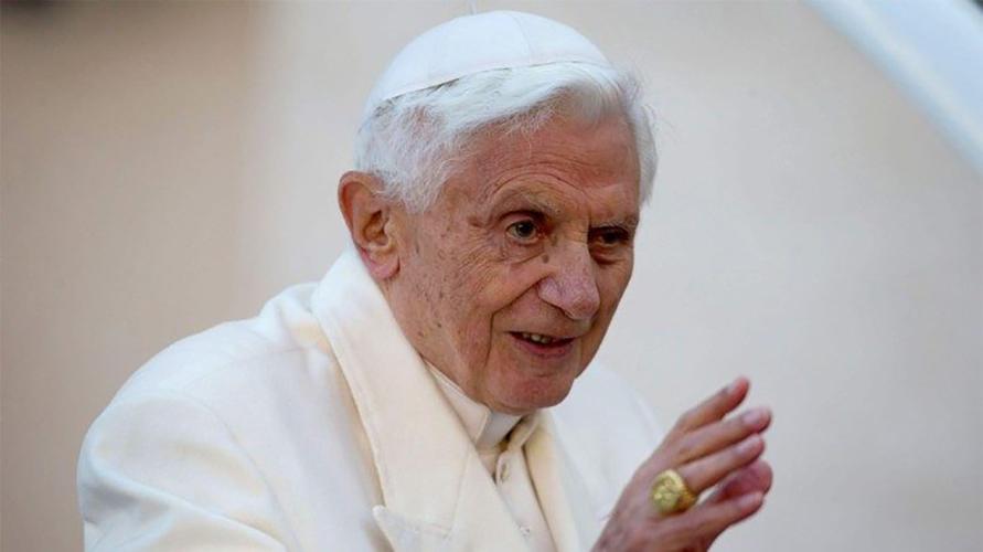 Papa Benedicto © Vatican Media