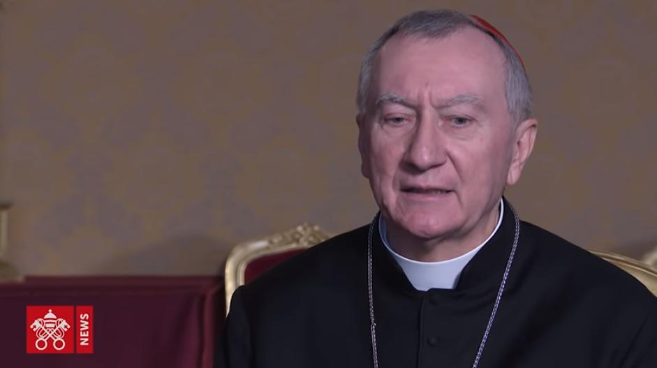 ITW Del Cardenal Parolin, Captura Noticias Del Vaticano