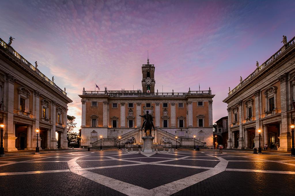 Plaza del Capitolio, Roma © Flickr/Oliver K.