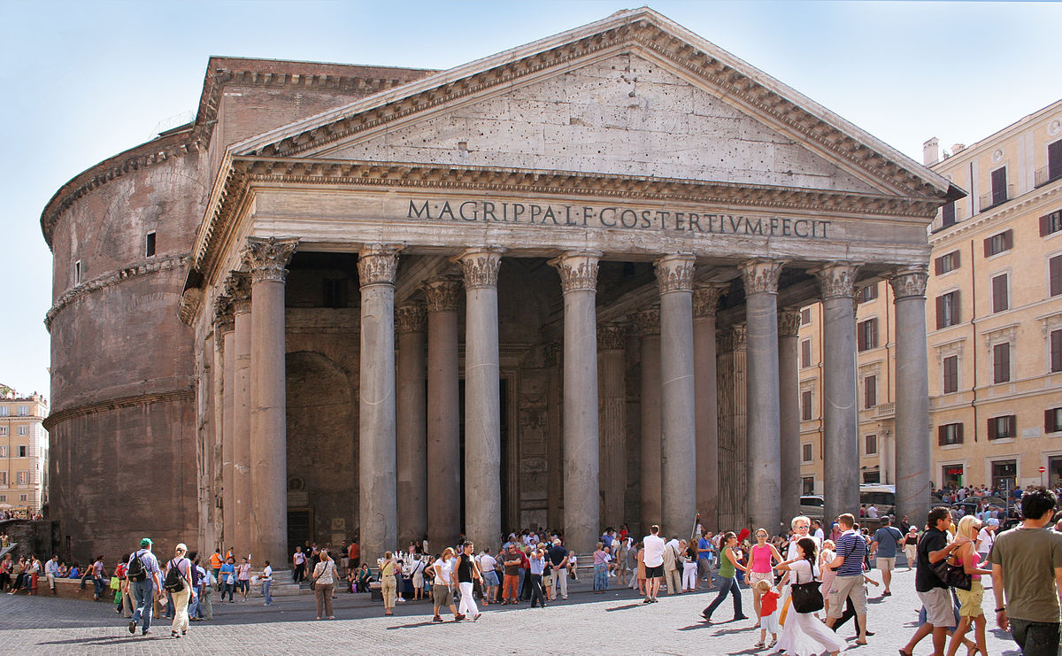 Panteón de Roma. Wikimedia