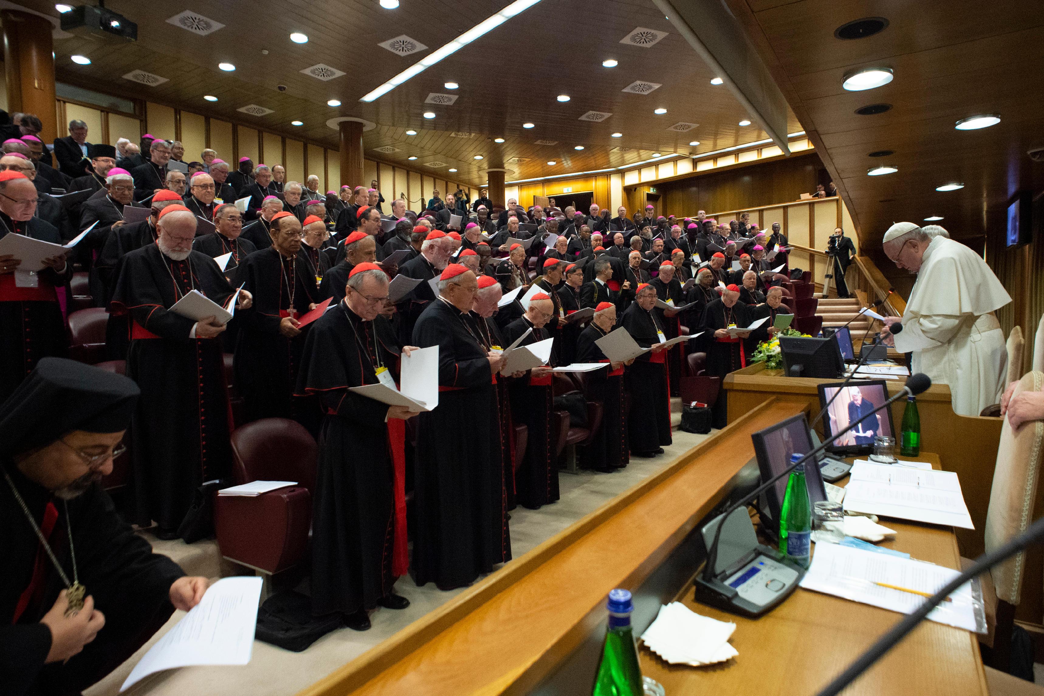 El Encuentro sobre protección de menores ha reunido a representantes de todos los países © Vatican Media