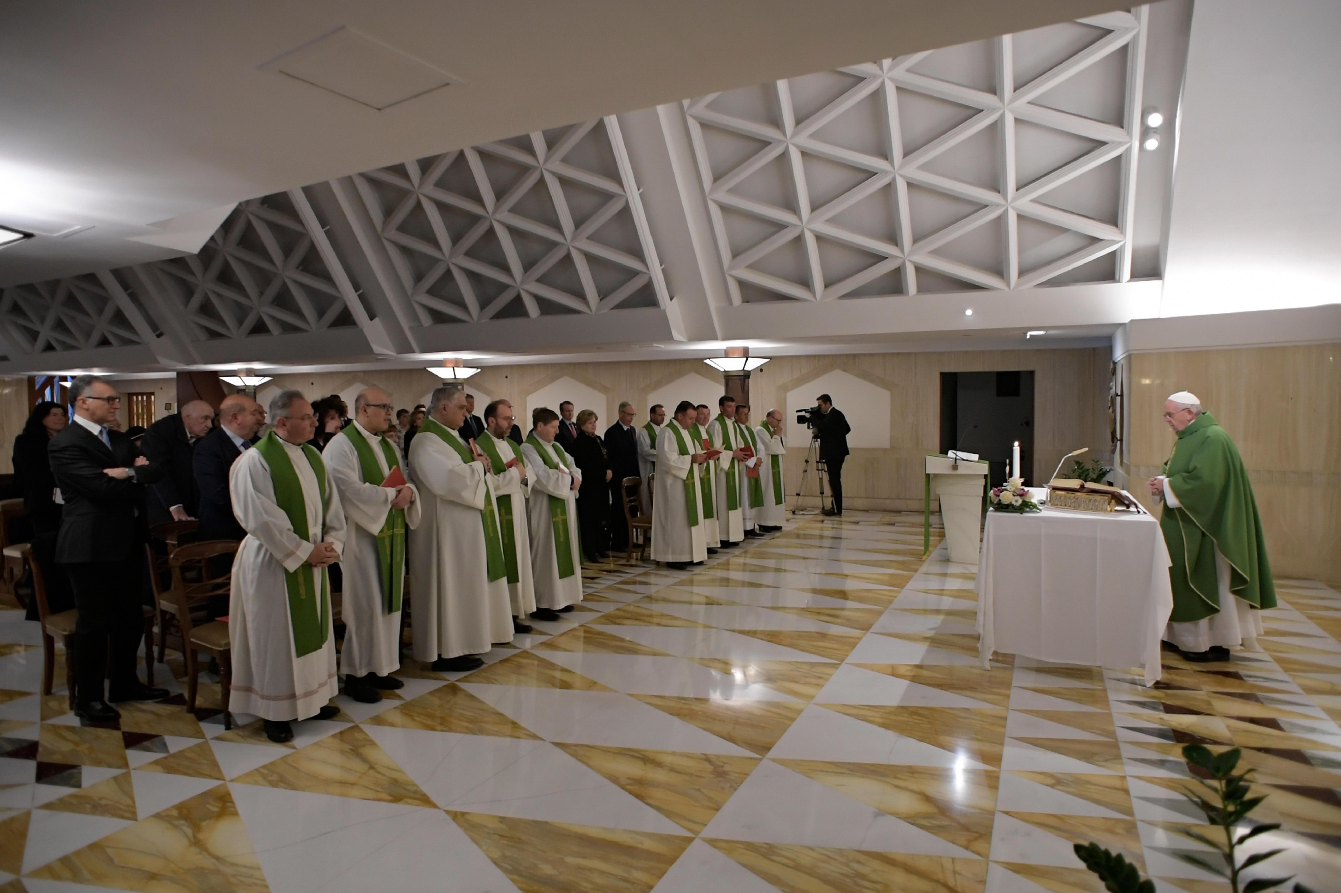 Eucaristía en Santa Marta, 28 febrero 2019 © Vatican Media